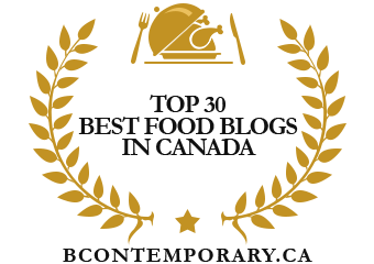 Banners for Top30 Best Food Blogs in Canada