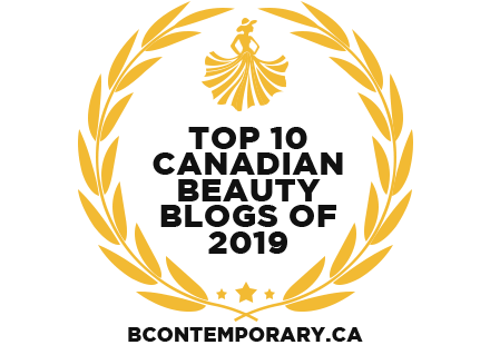 Banners for Top 10 Canadian Beauty Blogs of 2019