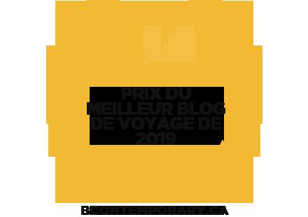 Banners for Prix Du Meilleur Blog De Voyage De 2019