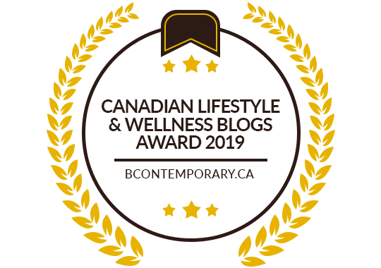 Banners for Canadian Lifestyle & Wellness Blogs Award 2019
